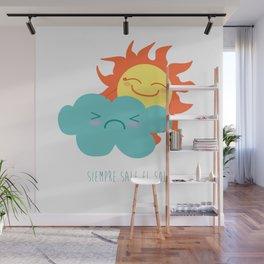 Siempre sale el sol Wall Mural