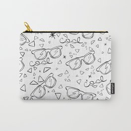 Cool glases doodles Carry-All Pouch