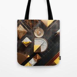 36 Days of Type - B Tote Bag
