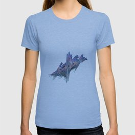 3D Fractal Driftwood T-shirt