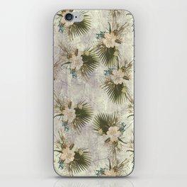 TROPICAL FLOWER iPhone Skin