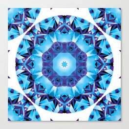 Fractal Geometry Mandala Canvas Print