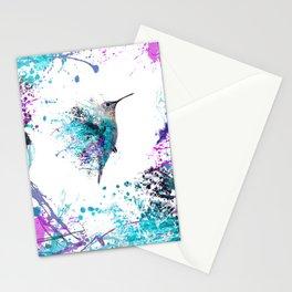 HUMMING BIRD SPLASH Stationery Cards