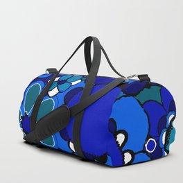 Floral Print Duffle Bag