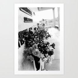Flowers in December Art Print