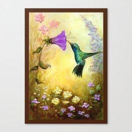 The Garden Guest Canvas Print