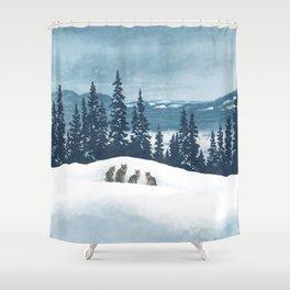 Frozen North Shower Curtain