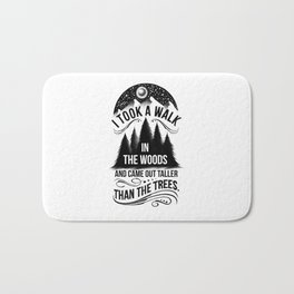 TALLER THAN THE TREES Bath Mat