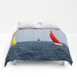 Fun Sail Three Comforters