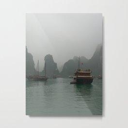 Viet Nam Halong Bay Metal Print