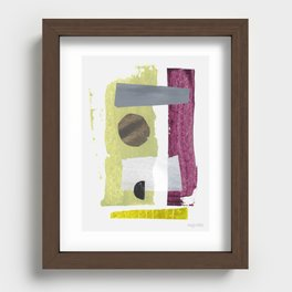 Récolte I Recessed Framed Print