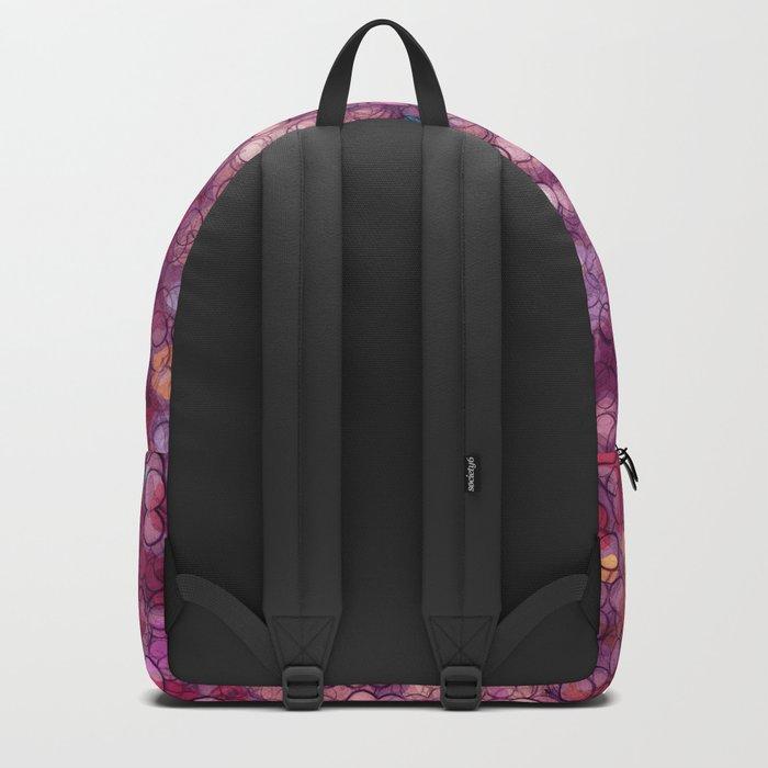 Abstract circles #2 Backpack