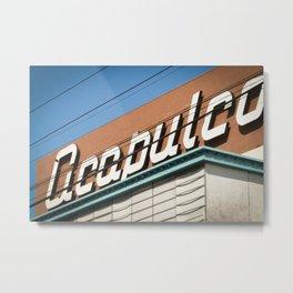 Acapulco Metal Print