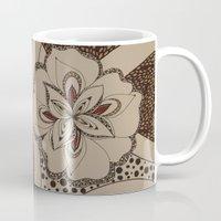 fierce Mugs featuring Fierce by fawnadine