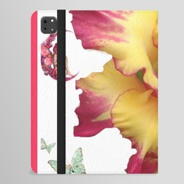 Butterflies Fairies and The Gladiola  iPad Folio Case