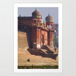Chet Singh Ghat Art Print