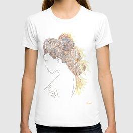 Sewing Portrait 3 T-shirt