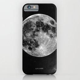 La Lune, Moon iPhone Case