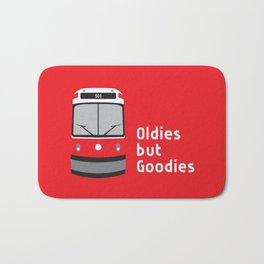 Oldies but Goodies - Old Streetcar, Toronto, ON, Canada Bath Mat