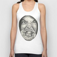 fear Tank Tops featuring Fear by Magdalena Almero