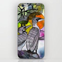 Cormorants iPhone Skin