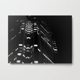 Downtown Nights Metal Print