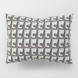 Black & White Water Coordinate Repeat Pillow Sham