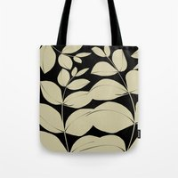 aelwen Tote Bags featuring In the Jungle by Aelwen