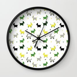 Goats Wall Clock