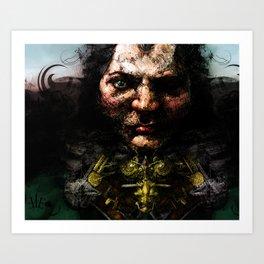 Broken Nose Art Print