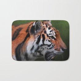 A Leader - Siberian Tiger Art Bath Mat