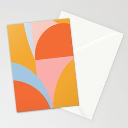 Shape and Color 54 Stationery Cards