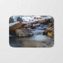 Winter Flow Bath Mat