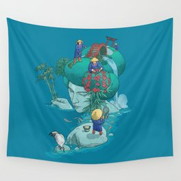Landscaping Wall Tapestry