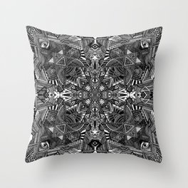 Triptamine Throw Pillow