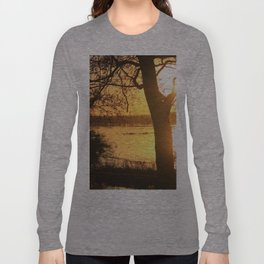 Floodplain at Sunset 2 Long Sleeve T-shirt