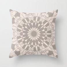 center of universe Throw Pillow