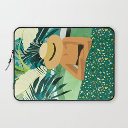Chill #illustration #travel Laptop Sleeve