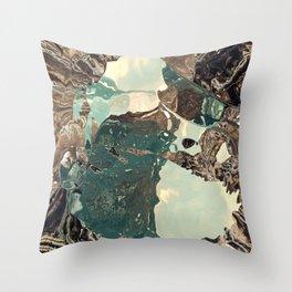 Gateway to something brighter Throw Pillow