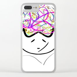 you love me ? Clear iPhone Case