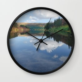 Ladybower reservoir Wall Clock