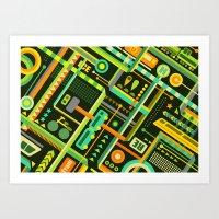 Verkehr Art Print