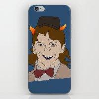 fandom iPhone & iPod Skins featuring Fandom Monster by Dansparce