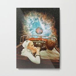 Space Riders Metal Print