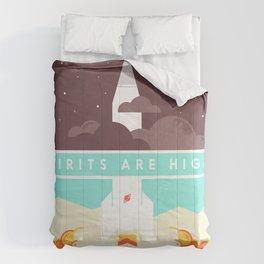 High Spirits Comforters