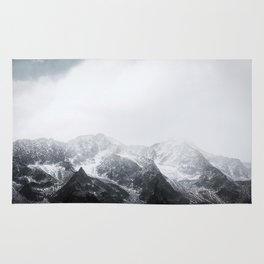 Morning in the Mountains - Nature Photography Rug