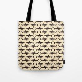 Pattern: Great White Shark ~ Vintage ~ (Copyright 2015) Tote Bag