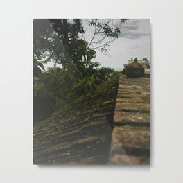 Kathmandu City Roof Tops - Architecture 02 Metal Print