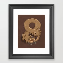 Chase Your Tail Forever Framed Art Print
