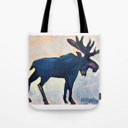 Appreciation - Moose Tote Bag